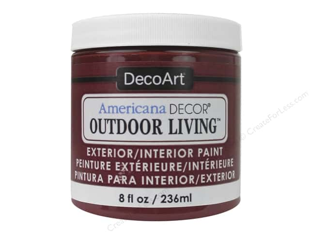 DecoArt Americana Decor Outdoor Living Exterior/Interior Paint 8 oz. Fire Pit