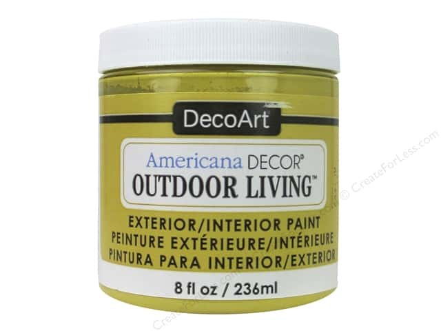 DecoArt Americana Decor Outdoor Living Exterior/Interior Paint 8 oz. Harvest