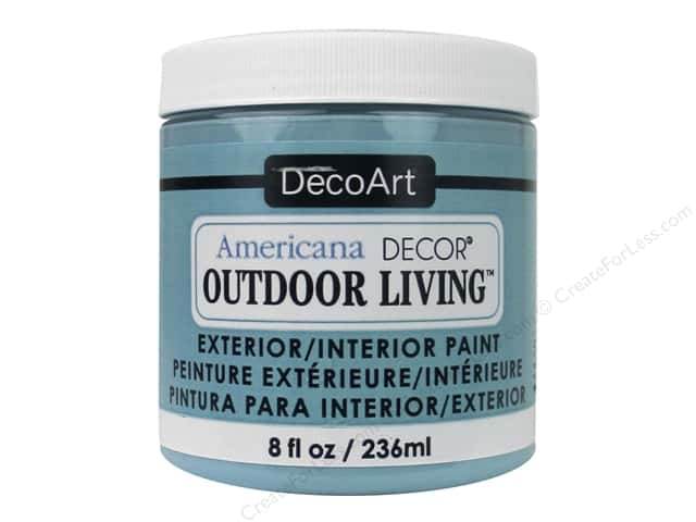 Decoart Americana Decor Outdoor Living Paint 8 Oz Poolside Createforless