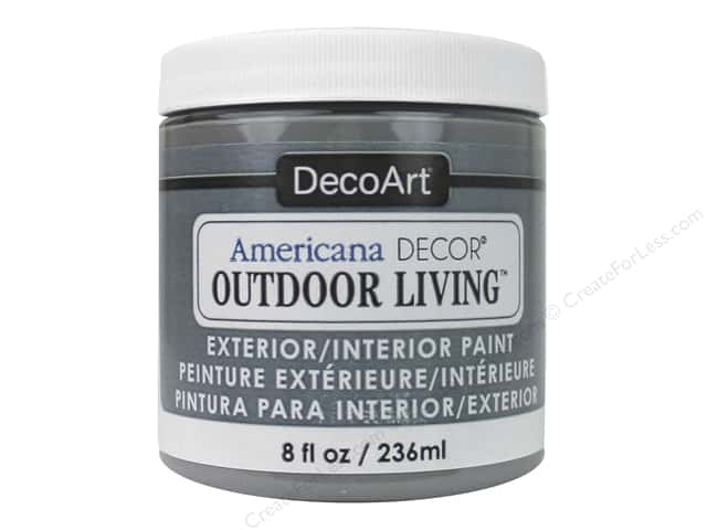 DecoArt Americana Decor Outdoor Living Exterior/Interior Paint 8 oz. Rock Garden