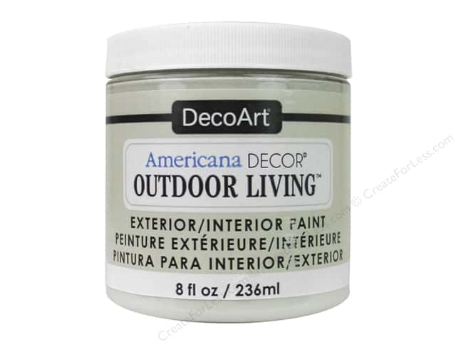 DecoArt Americana Decor Outdoor Living Exterior/Interior Paint 8 oz. Sand
