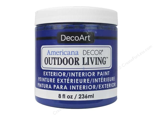 DecoArt Americana Decor Outdoor Living Exterior/Interior Paint 8 oz. Morning Glory