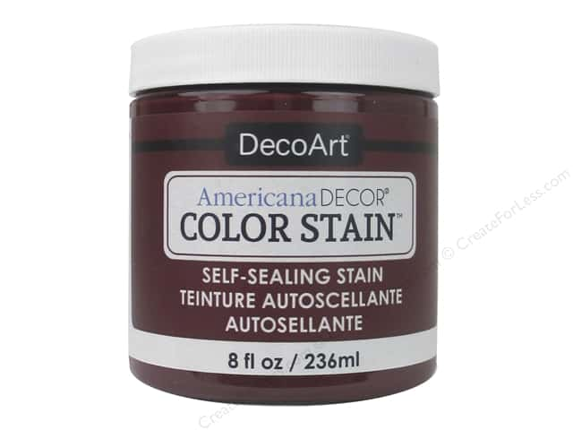 DecoArt Americana Decor Color Stain 8 oz. Garnet