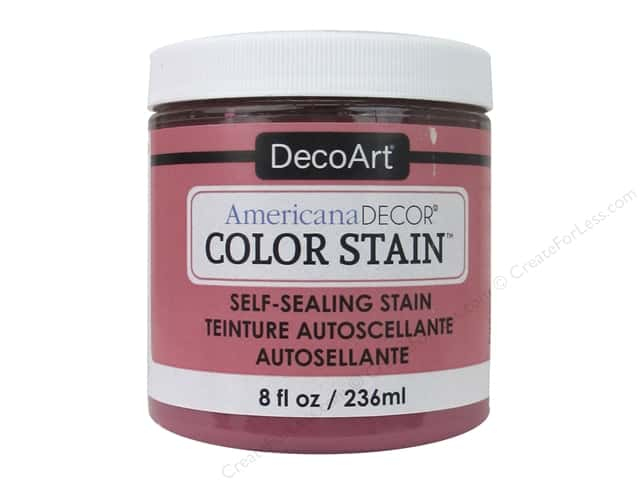 DecoArt Americana Decor Color Stain 8 oz. Rose
