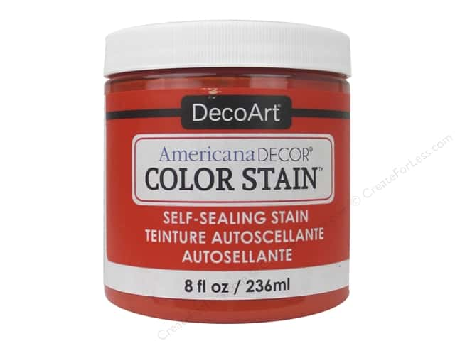 DecoArt Americana Decor Color Stain 8 oz. Tangelo