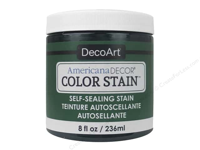 DecoArt Americana Decor Color Stain 8 oz. Dark Jade