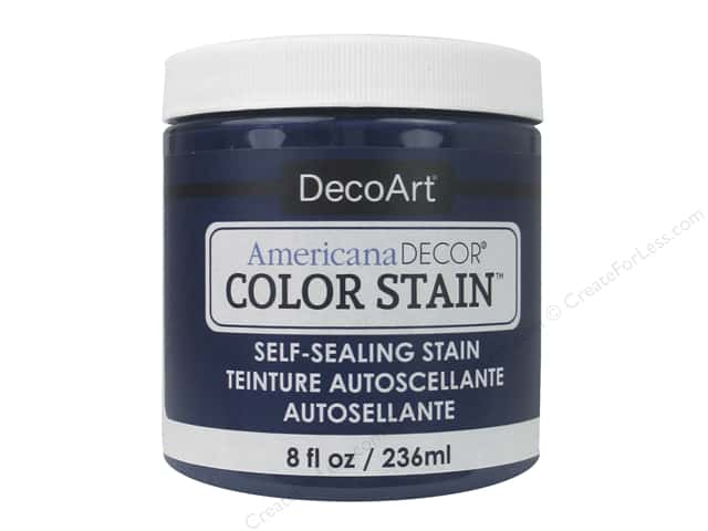DecoArt Americana Decor Color Stain 8 oz. Navy