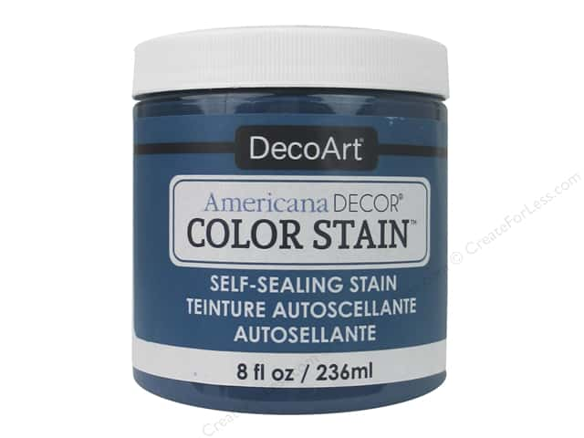 DecoArt Americana Decor Color Stain 8 oz. Turquoise