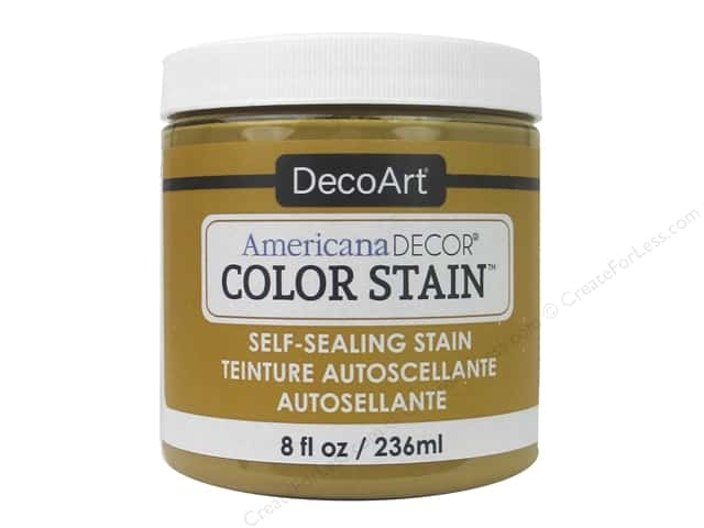 DecoArt Americana Decor Color Stain 8 oz. Golden Honey