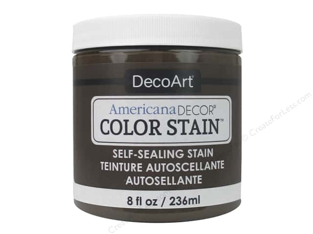 DecoArt Americana Decor Color Stain 8 oz. Chocolate