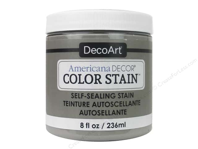 DecoArt Americana Decor Color Stain 8 oz. Ash Grey