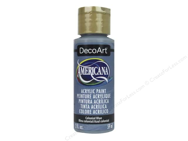 DecoArt Americana Acrylic Paint 2 oz. Colonial Blue