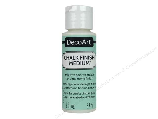 DecoArt Chalk Finish Medium 2 oz.