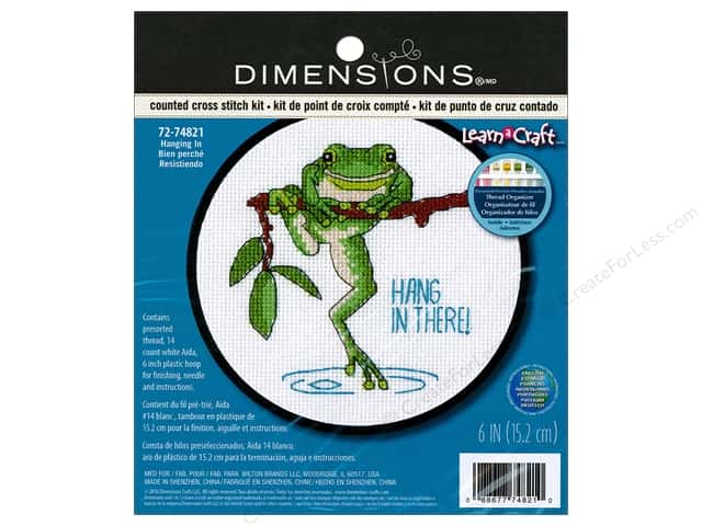 Dimensions Cross Stitch Kit Hanging In