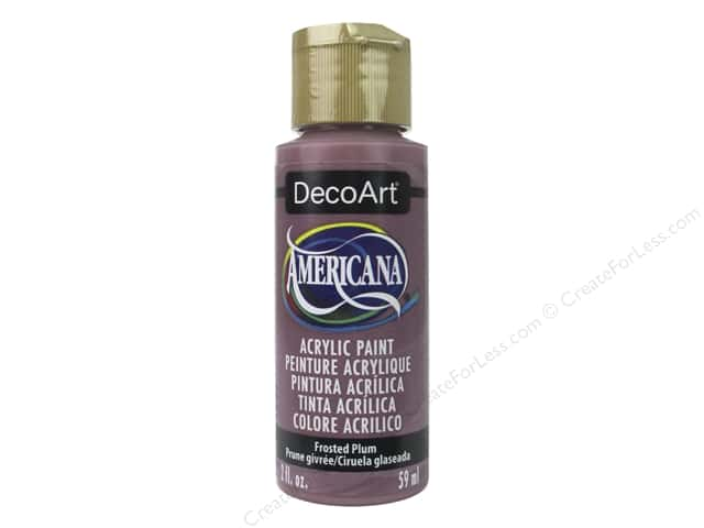 DecoArt Americana Acrylic Paint 2 oz. Frosted Plum