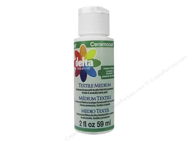 Delta Ceramcoat Textile Medium 2 oz.