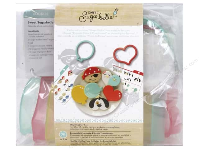 American Crafts Sweet Sugarbelle Shape Shifter Cookie Cutter Set