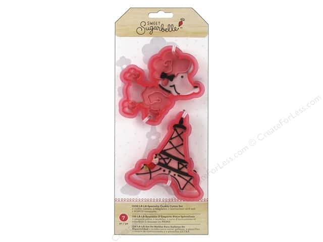American Crafts Sweet Sugarbelle Cookie Cutter Set Ooh La La