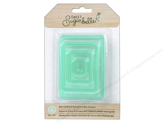 American Crafts Sweet Sugarbelle Nested Cookie Cutters Rectangle