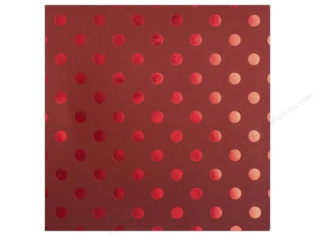 Bazzill 12 x 12 in. Cardstock Foil Tone On Tone Wax Lips (25 sheets)
