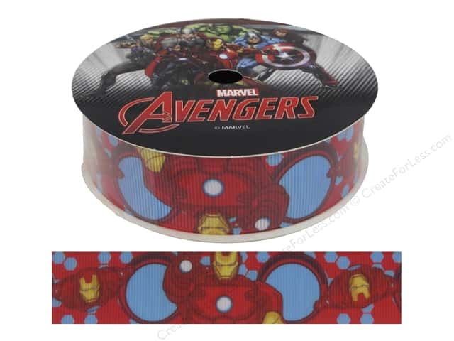 "Simplicity Ribbon Grosgrain 1"" Iron Man"