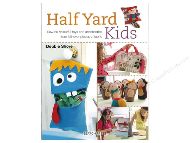Search Press Half Yard Kids Book