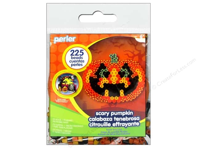 Perler Fused Bead Kit Trial Scary Pumpkin