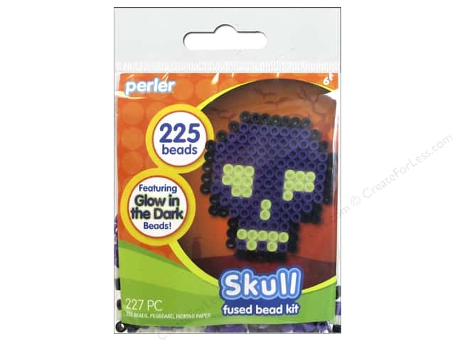 Perler Fused Bead Kit Skull