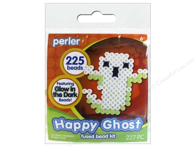 Perler Fused Bead Kit Happy Ghost