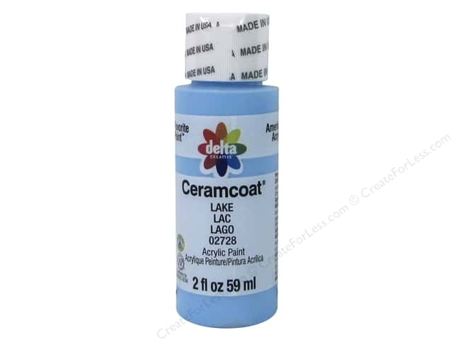 Ceramcoat Acrylic Paint by Delta 2 oz. #2728 Lake