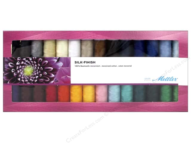 Mettler Thread Gift Set Silk Finish Cotton 28pc