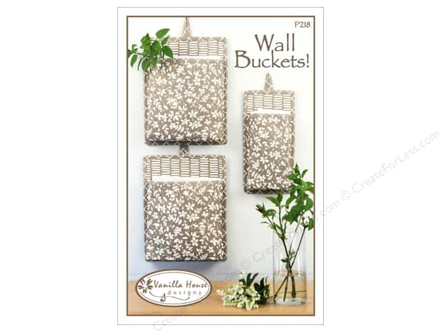 Vanilla House Wall Buckets Pattern
