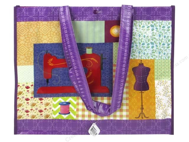 """Tacony Notions Shopping Tote 15""""x 14""""x 4"""" Sewing Machine"""
