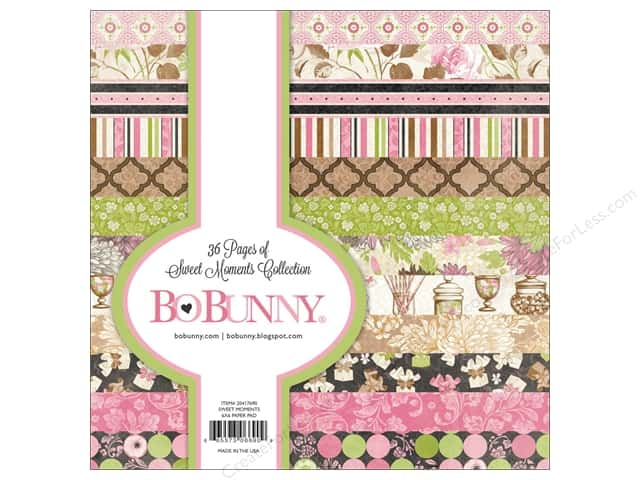 Bo Bunny 6 x 6 in. Paper Pad Sweet Moments