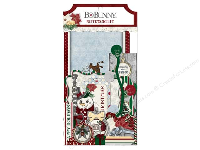 Bo Bunny Noteworthy Journaling Cards Tis The Season