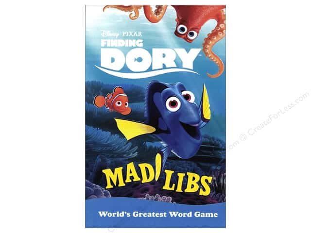 Finding Dory Mad Libs Book