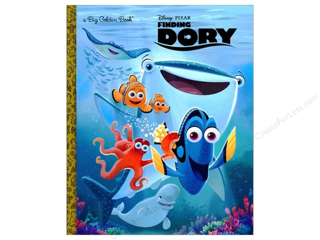 Golden Disney Finding Dory Big Book