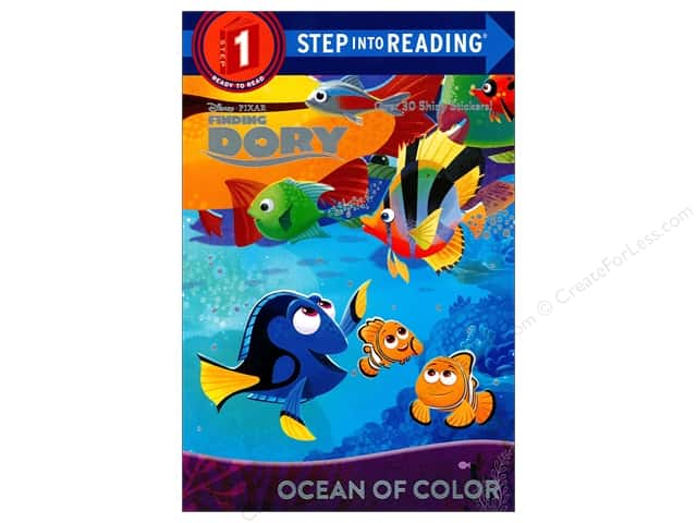 Disney Finding Dory Ocean of Color Book