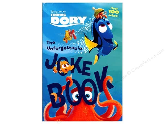 Disney Finding Dory The Unforgettable Joke Book