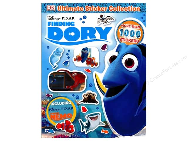 DK Publishing Disney Finding Dory Ultimate Sticker Collection Book