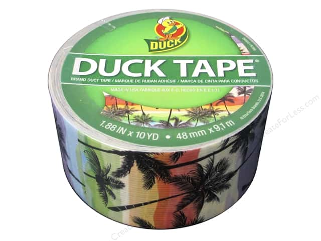 "Duct Brand Duct Tape 1.88""x 10yd Sunset Strip"