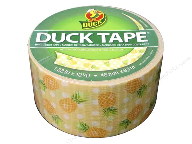 Duck Brand Duct Tape Pineapple Delight