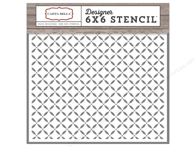 Carta Bella Designer Stencil Christmas Delivery Lattice