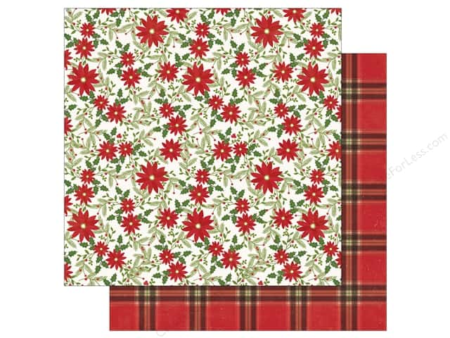 Echo Park 12 x 12 in. Paper I Love Christmas Christmas Joy (25 sheets)