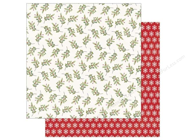 Echo Park 12 x 12 in. Paper I Love Christmas Holly Days (25 sheets)
