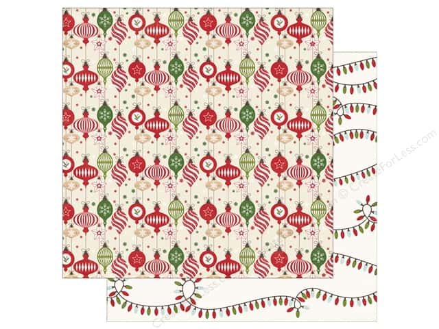 Echo Park 12 x 12 in. Paper I Love Christmas Deck The Halls (25 sheets)