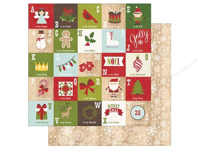 Echo Park 12 x 12 in. Paper I Love Christmas December Magic (25 sheets)