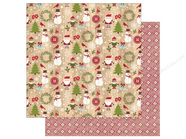Echo Park 12 x 12 in. Paper I Love Christmas Here Comes Santa (25 sheets)