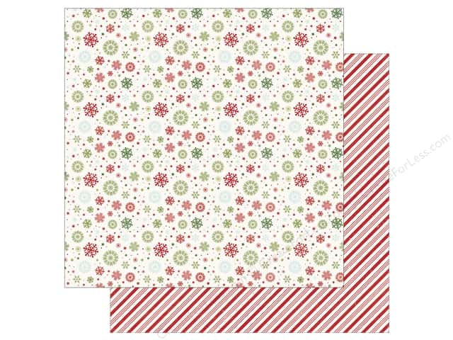Echo Park 12 x 12 in. Paper I Love Christmas Let It Snow (25 sheets)