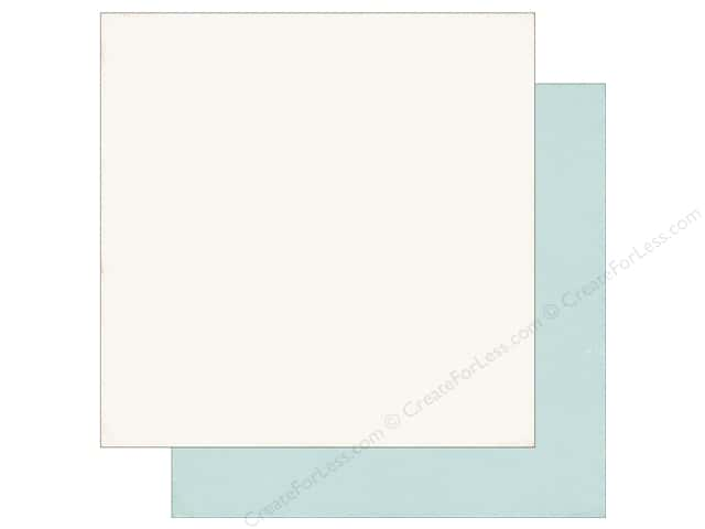 Echo Park 12 x 12 in. Paper I Love Christmas Cream/Blue (25 sheets)